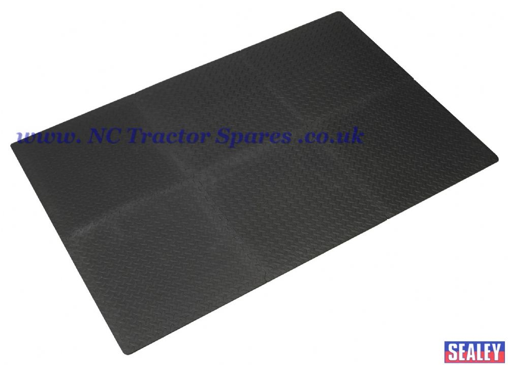 Interlocking Comfort Workshop Mat Set 1200 x 1800mm
